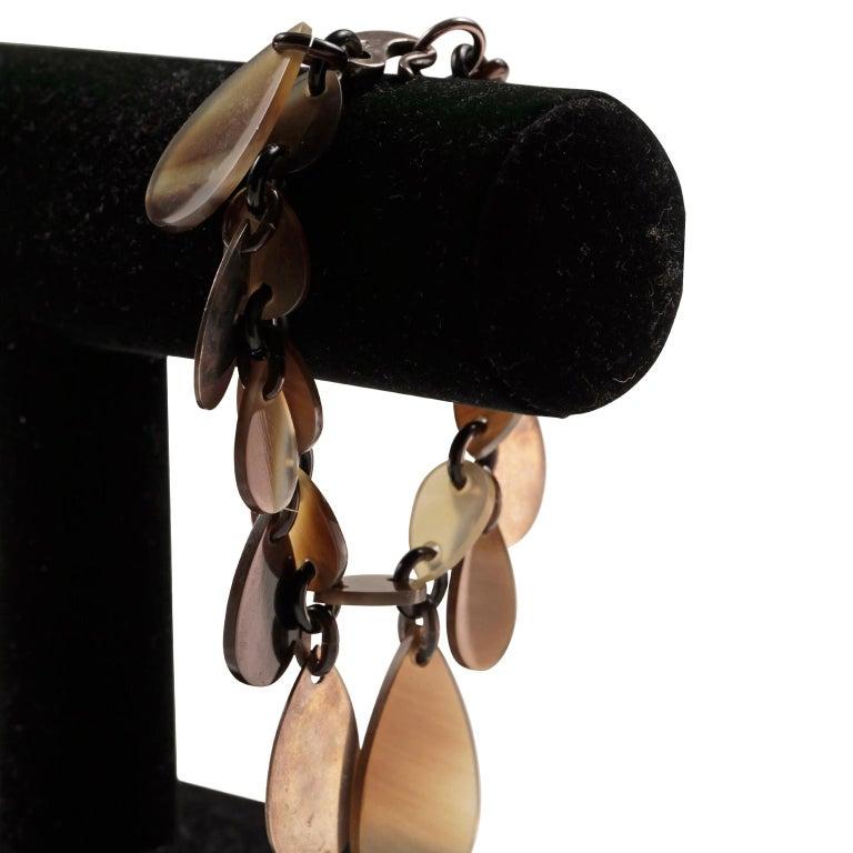 Hermès Raji Horn Bracelet For Sale 1