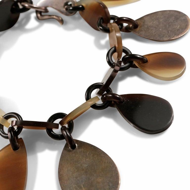 Hermès Raji Horn Bracelet For Sale 2