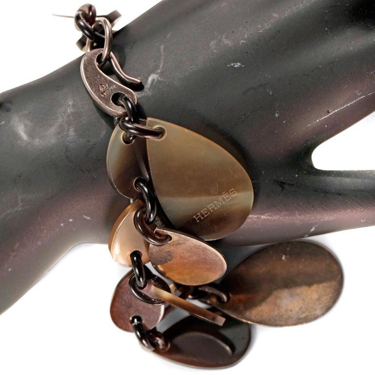 Hermès Raji Horn Bracelet For Sale 5