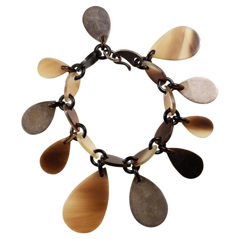 Hermès Raji Horn Bracelet For Sale
