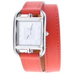Hermès Red Cape Cod Wrap 9hr0207 Watch