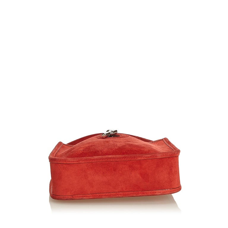 Women's Hermes Red Leather Vespa TPM For Sale