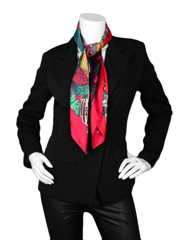 Hermes Red/ Multi-Colored