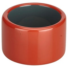 Hermes Red Resin Plastic Bangle France