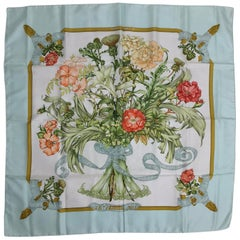 Hermes Regina silk twill Scarf by Leila Menchari