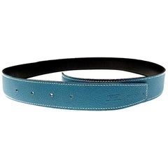 HERMES Reversible Belt Leather 32 mm