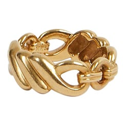 HERMES Ring In yellow gold 750 / °°°