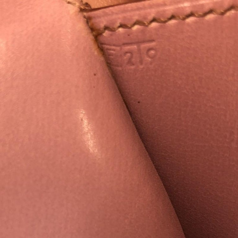 Hermes Rio Clutch Leather PM For Sale 6