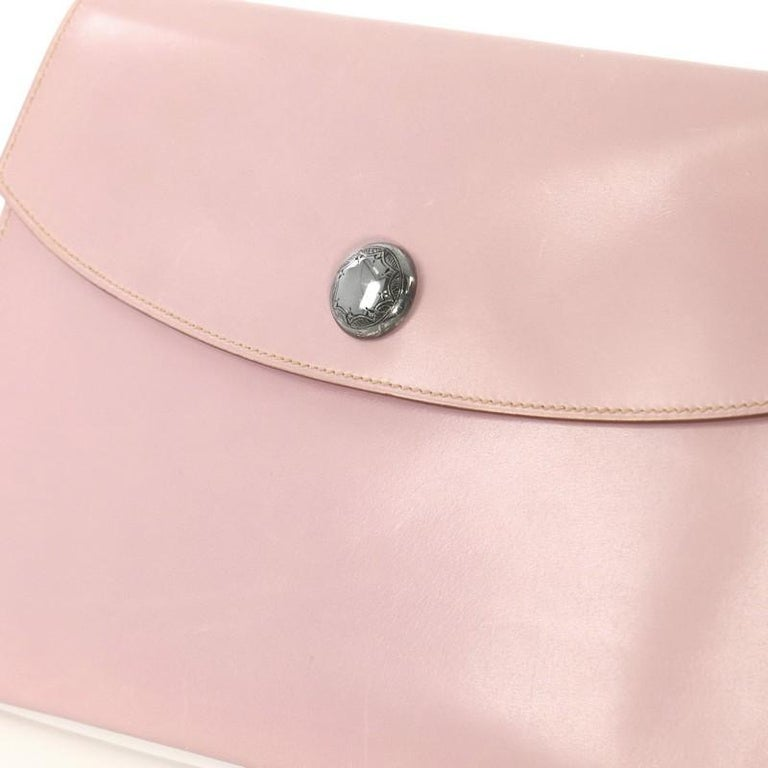 Hermes Rio Clutch Leather PM For Sale 1