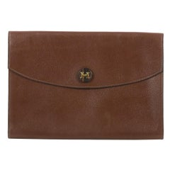 Hermes Rio Clutch Leather PM