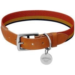 Hermes Rocabar Dog Collar Medium Model