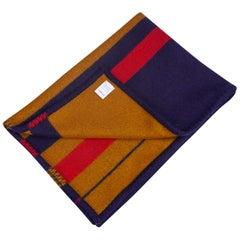 Hermes Rocabar Plaid Dog Blanket Reversible New