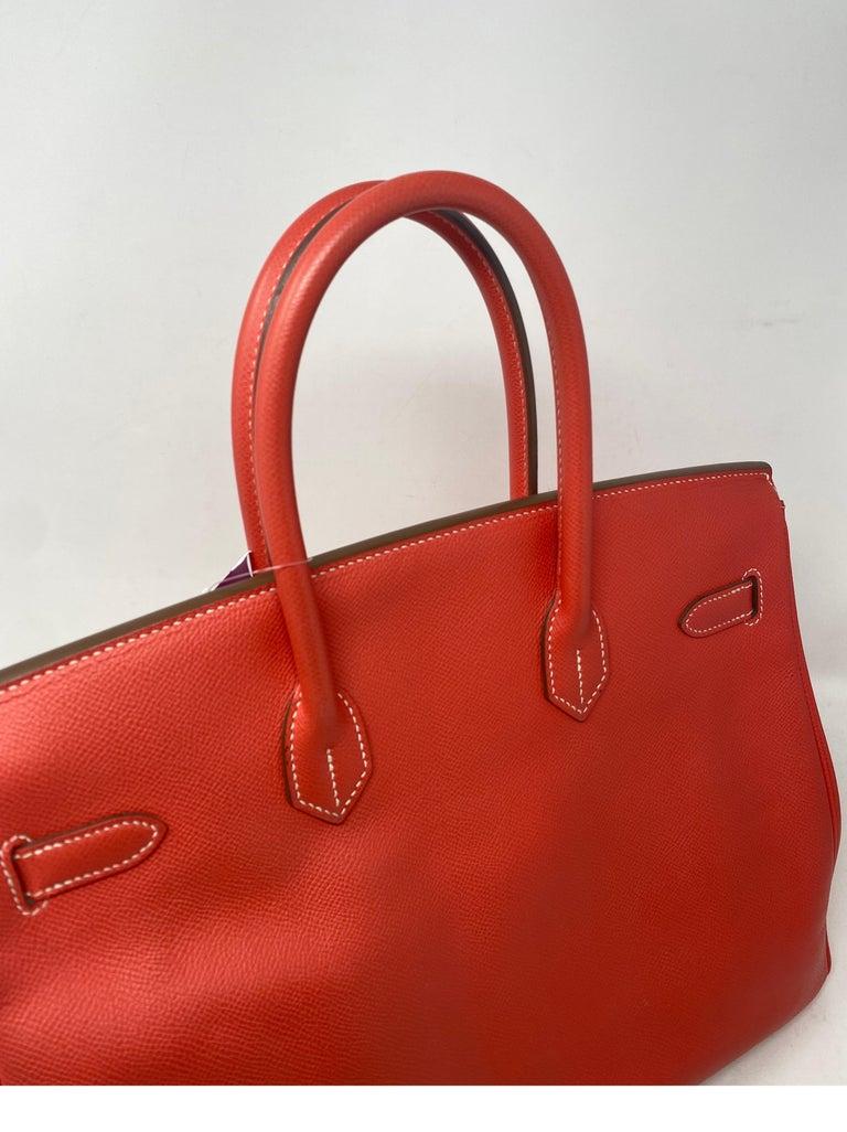 Hermes Rose Jaipur Candy Birkin 35 Bag For Sale 5