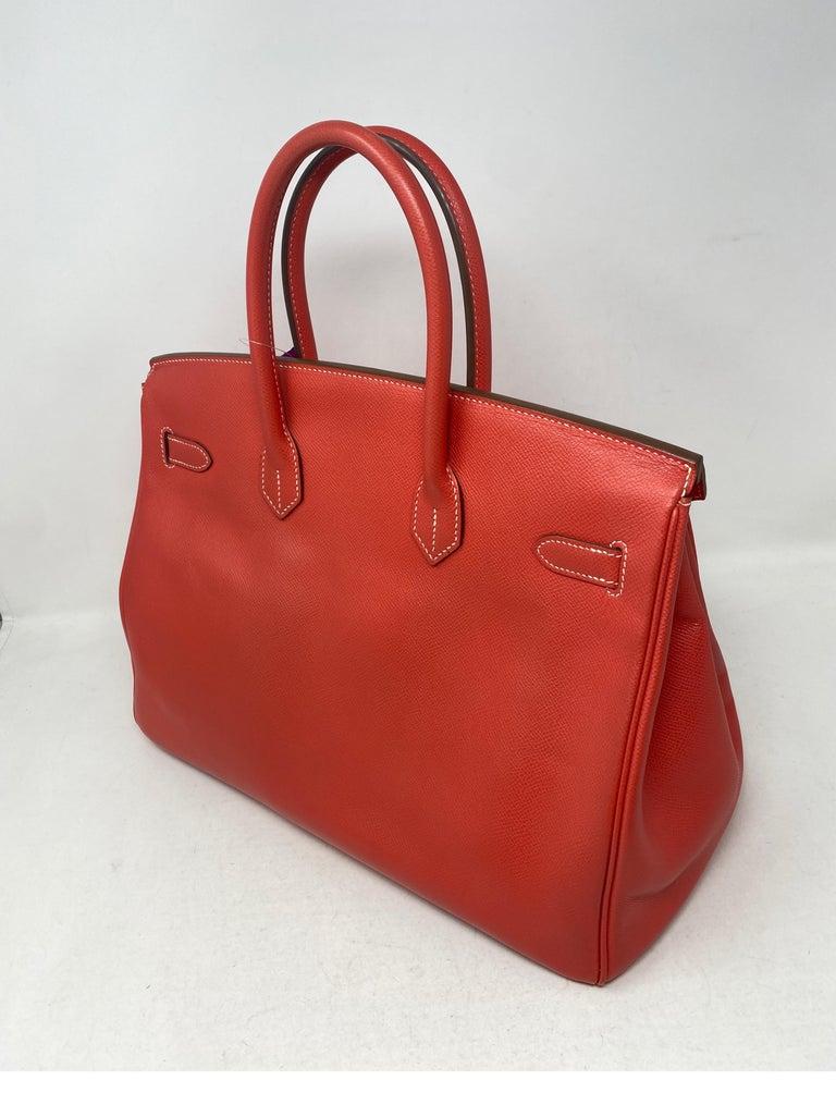 Hermes Rose Jaipur Candy Birkin 35 Bag For Sale 6