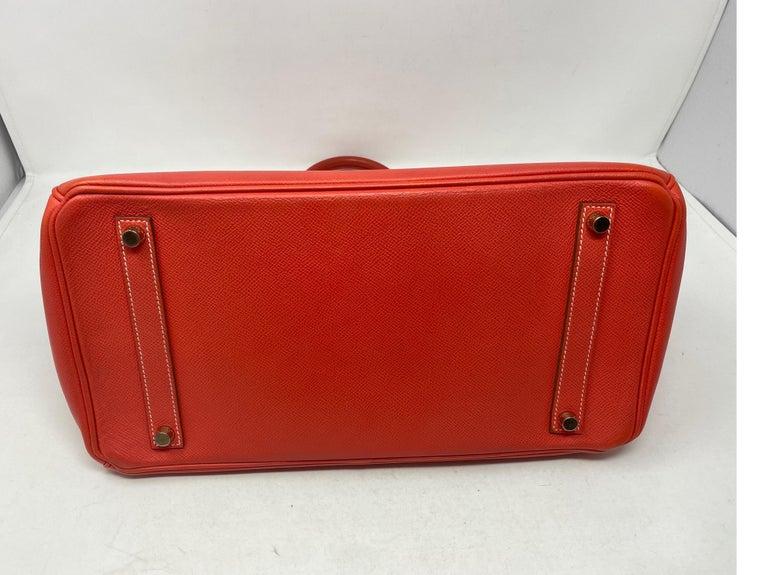 Hermes Rose Jaipur Candy Birkin 35 Bag For Sale 7