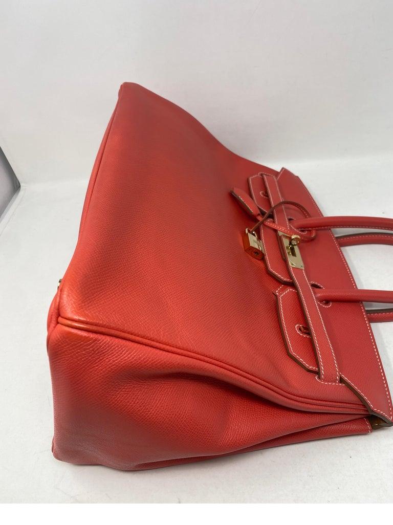 Hermes Rose Jaipur Candy Birkin 35 Bag For Sale 10