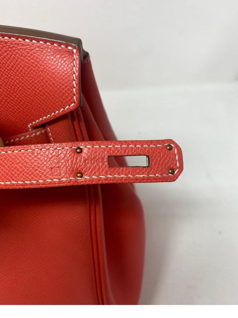 Hermes Rose Jaipur Candy Birkin 35 Bag For Sale 12