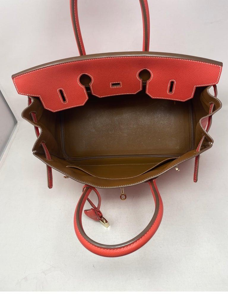 Hermes Rose Jaipur Candy Birkin 35 Bag For Sale 13