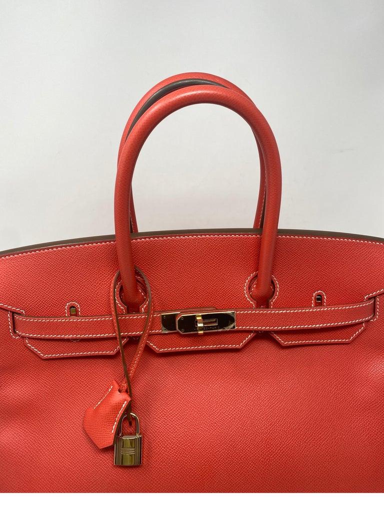Women's or Men's Hermes Rose Jaipur Candy Birkin 35 Bag For Sale