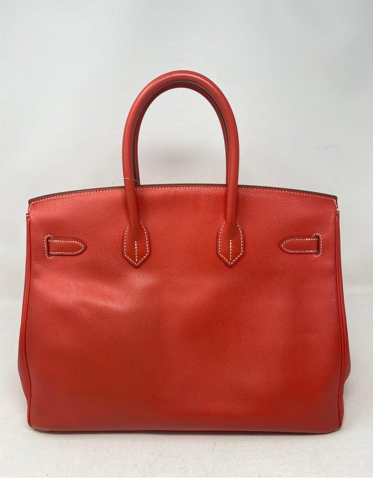 Hermes Rose Jaipur Candy Birkin 35 Bag For Sale 3
