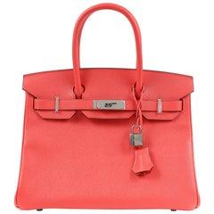 Hermès Rose Jaipur Epsom 30 cm Birkin Bag
