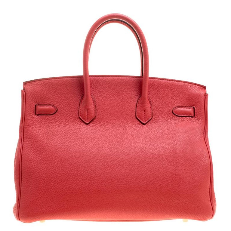 Hermes Birkin was inspired by Jane Birkin and is one of the most desired handbags in the world. A timeless classic that never goes out of style. Handcrafted from the highest quality of leather by skilled artisans, it takes long hours of rigorous