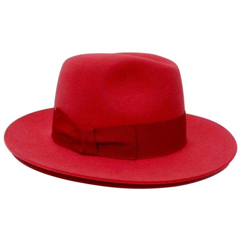 Hermés Fedora Hat  For Sale