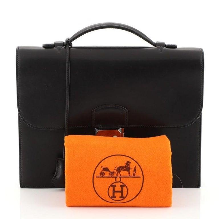 Hermes Sac A Depeches Bag Barenia 27