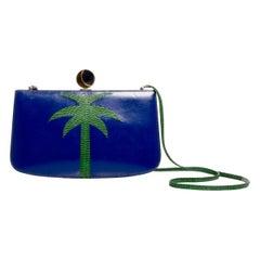 Hermès Sac à Malice Palm Tree Bag Rare