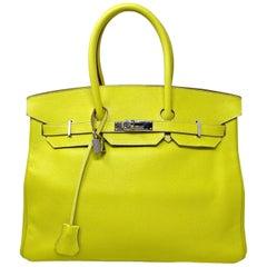 Hermès Sac Birkin 35 Epsom Lime, 2000