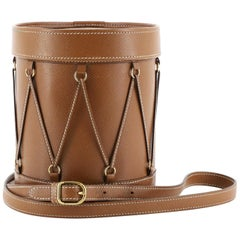Hermes Sac Tambourine Leather