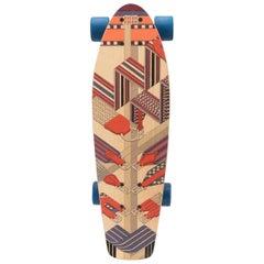 Hermès Sangles En Zig Zag Skateboard