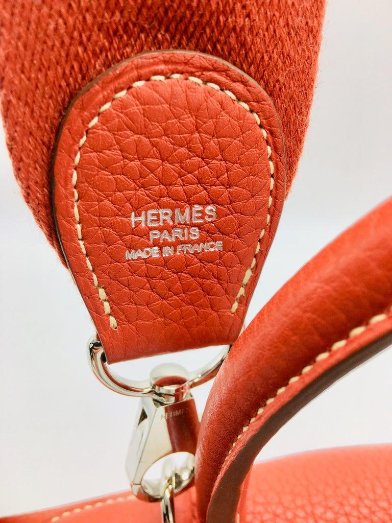 Hermes Sanguine Kelly 35cm in Clemence For Sale 1