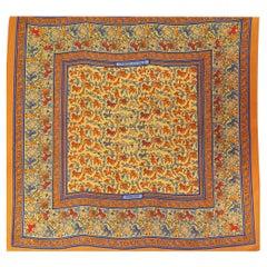 Hermès scarf Chasse en Inde