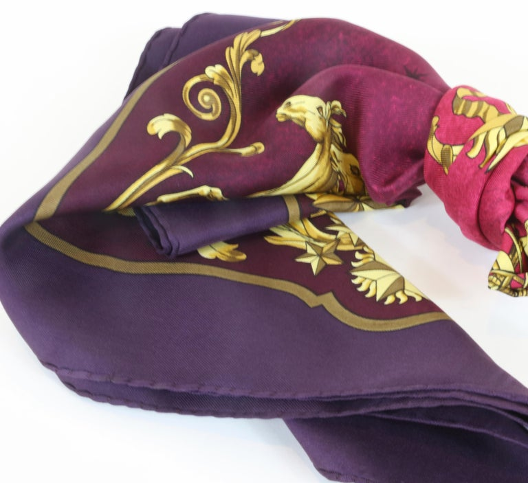 Hermes Scarf Cosmos For Sale 1