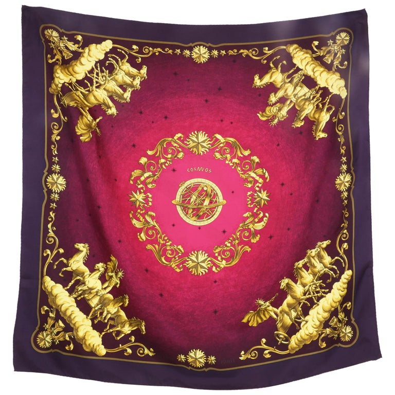 Hermes Scarf Cosmos For Sale