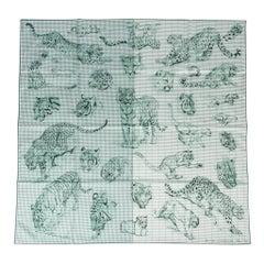 Hermes Scarf Dans L'Atelier De Robert Dallet Finnesse 90 Silk Twill