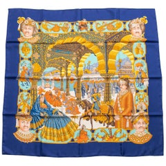 Hermes Scarf Designed by Catherine Baschet, 1996