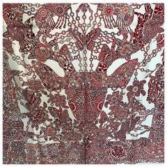 Hermes Scarf La Legende de la Foret scarf 90 Silk New