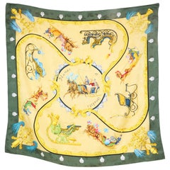 Hermes Scarf Plumes et