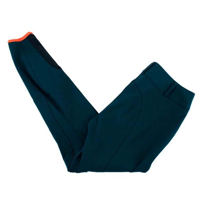 Black Hermes Sellier Navy Jump Riding Breeches - Size US 6 For Sale