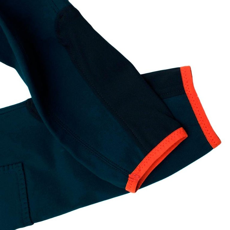Hermes Sellier Navy Jump Riding Breeches - Size US 6 For Sale 1