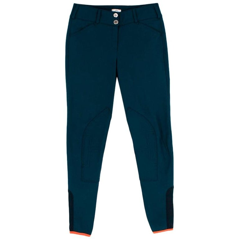 Hermes Sellier Navy Jump Riding Breeches - Size US 6 For Sale