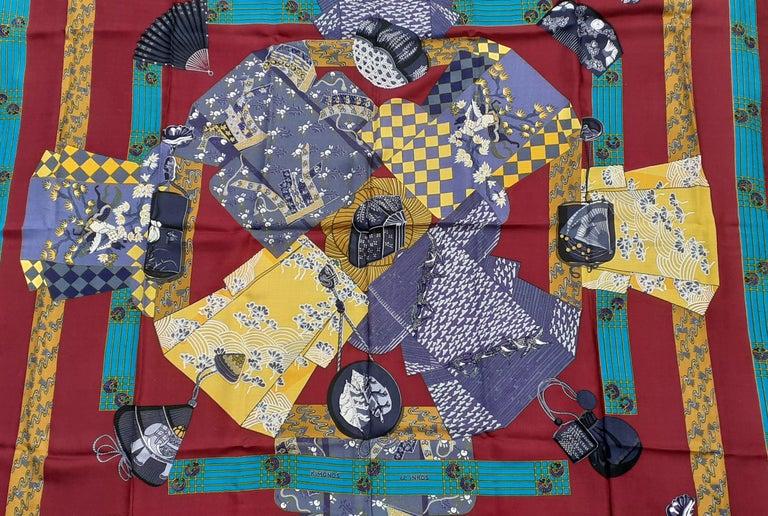 Gorgeous Authentic Hermès Shawl  Pattern: