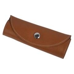 Hermes Shoe Polishing Glove Mitt Gold / Brown New w/ Box