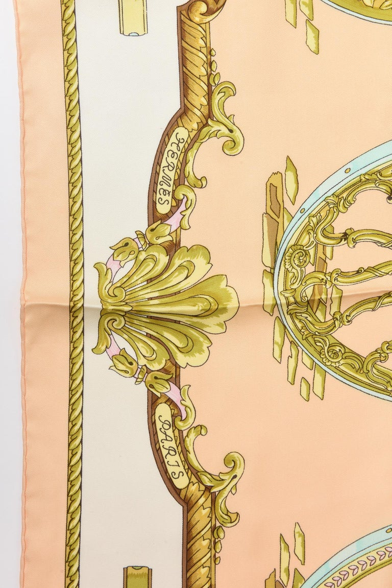 Women's Hermes Silk Scarf Vintage For Sale