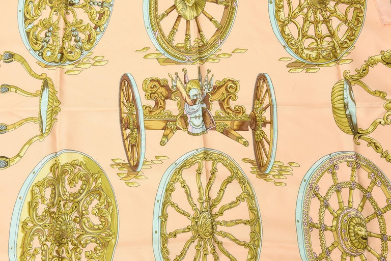 Hermes Silk Scarf Vintage For Sale 1