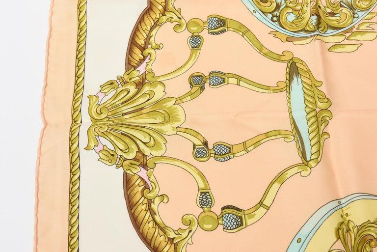 Hermes Silk Scarf Vintage For Sale 3