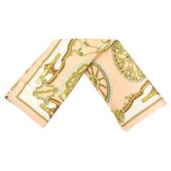 Hermes Silk Scarf Vintage