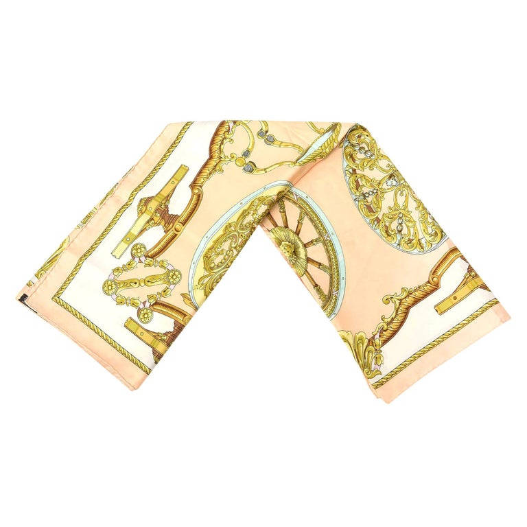 Hermes Silk Scarf Vintage For Sale